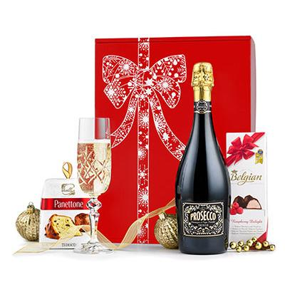 Image of Promotional Prosecco & Panettone Hamper
