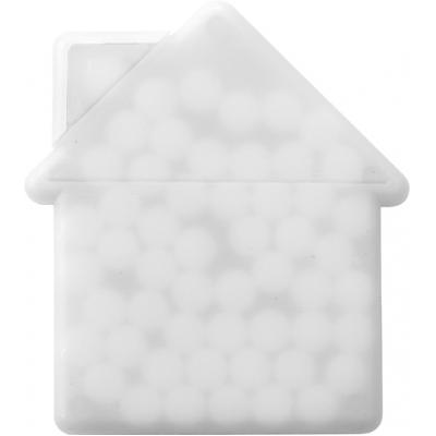 Image of Promotional House shaped mint card