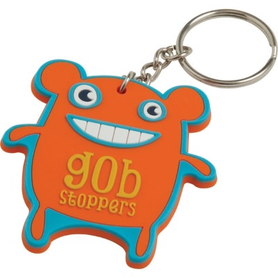 Image of Soft PVC Keyring (30mm: Moulded Up To 4 Spot Colours)