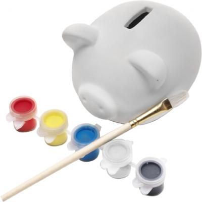 Image of Piggy bank made of plaster