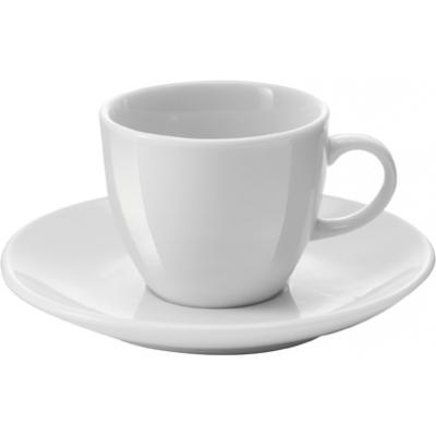 Image of Porcelain cup and saucer