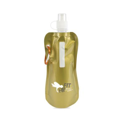 Image of Metallic fold up bottle