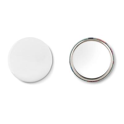 Image of Mirror button, metal