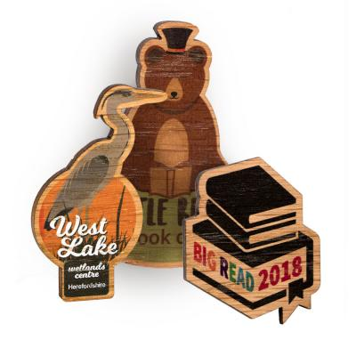 Image of Bespoke Shape Wood Fridge Magnets