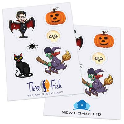 Image of Halloween Sticker Sheets