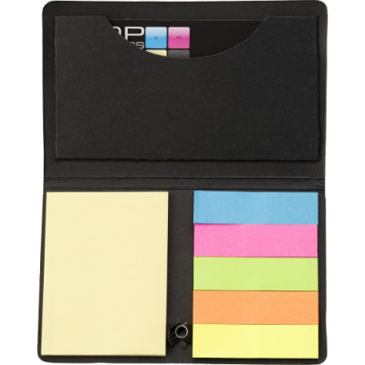 Image of Card case with sticky tabs