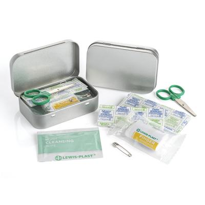 Image of Mini First Aid Kit in an Aluminium Tin